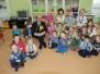 Poseł Rutnicki z przedszkolakami w Nowym Tomyślu