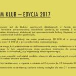 Program KLUB – Edycja 2017